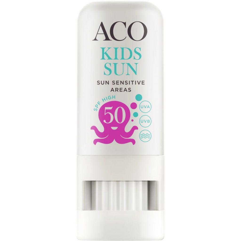 Bästa Solkrämen för barn 2020 - 4 ACO Sun Kids Sunstick SPF 50